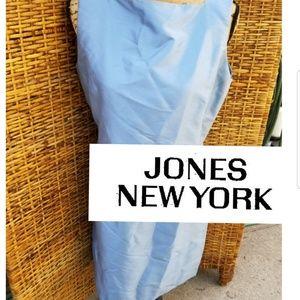 Beautiful Jones NY Country silk sheath dress 14